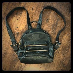 Steve Madden Faux Leather Mini Backpack